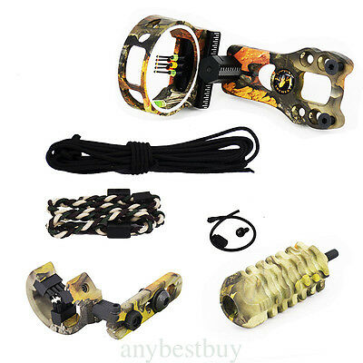 Upgrade Compound Bow Archery Combo Accessories Bow Kit Stabilizer Black /Camo