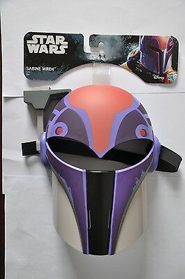 Star Wars Sabine Wren B7248 Mask Plastic Purple Disney Role Play Toy