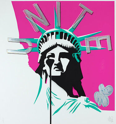PURE EVIL - America's nightmare - Hand finished 1/1 | Urban, Street art, Pop Art