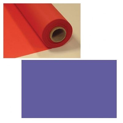 Purple 100ft Plastic Buffet Banquet Roll Wedding Party Table Cover