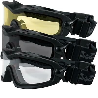 Valken Sierra Googles Outdoor Sports Tactical Glasses Airsoft Paintball Climbing