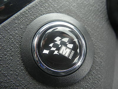 M-Sport Start Button Gel Badge – Ford Fiesta Focus Mondeo Kuga C-Max S-Max RS ST