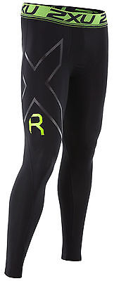 2XU Refresh Recovery Compression Long Tight Herren Schwarz/Nero MA4419b