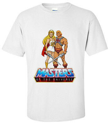 MASTERS OF THE UNIVERSE  T=Shirt Sizes SMALL,MEDIUM,LARGE,XL