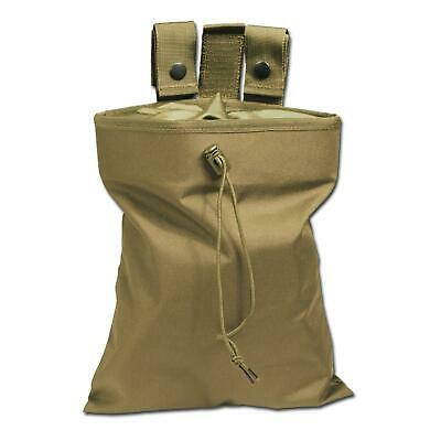 Mil-Tec Dump Bag Foldable Airsoft Ammo Dump Pouch Army Cadet Coyote 6mm Bb