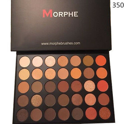 Brand New Morphe Brushes 35O 350 Eyeshadow Palette 35 Color Nature Glow