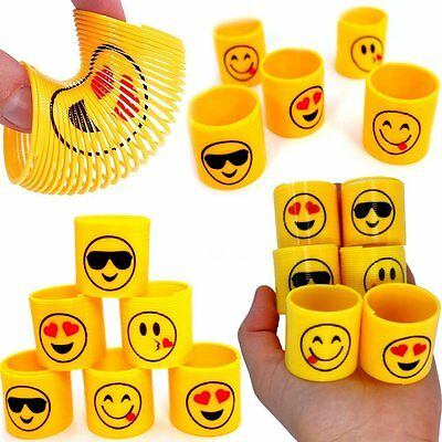 German Trendseller® - 12 x Emoji - Party - Strolche ┃ -NEU- ┃ Happy Face