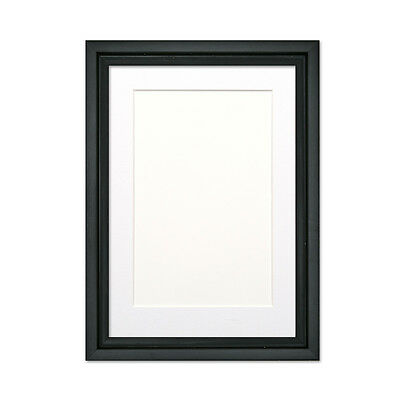 L Shape Picture frame photo frame poster frame with Bespoke Mount White or Black
