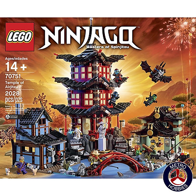 Lego Ninjago Temple of Airjitzu 70751 Brand New
