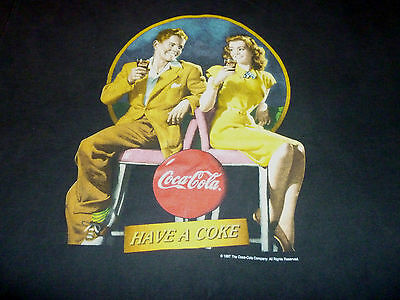 Coca-cola Vintage 1997 Shirt ( Used Size XL ) Good Condition!!!