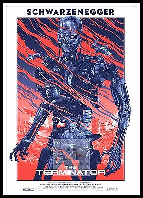 The Terminator 9    Poster Greatest Movies Classic & Vintage Films
