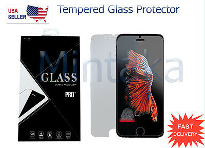Glass Screen Protector Film Tempered Premium Iphone 7 (4.7'').Real  Coverage.