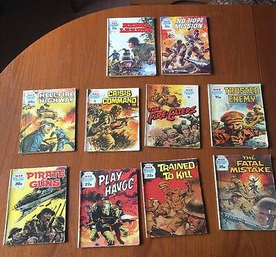 War Picture Library 10 x Magazines Job Lot