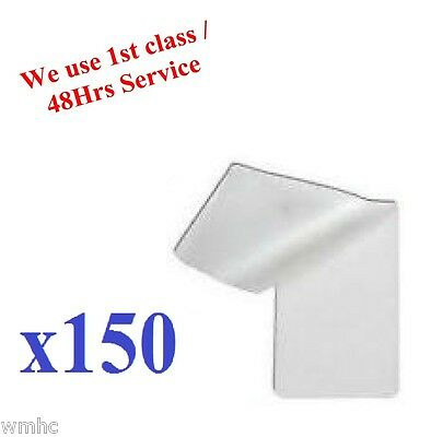 150pcs ID Laminating Pouches Ideal for ID and Many More Others 60 x 95mm approx
