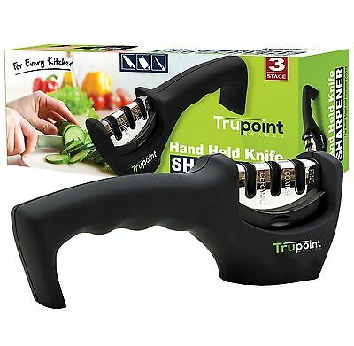 Trupoint Kitchen Knife Sharpener - So Easy - Never Be With Out a Sharp Knife ...