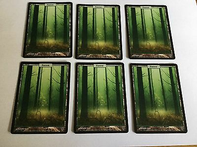 Unhinged Forest Full Art Land.Magic