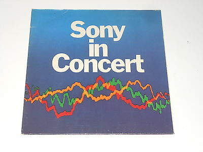 Sony In Concert - LP - Johnny Winter - Deep Puple - Eloy - Scorpions - RARE