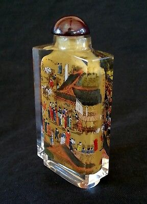 Fantastic antique Chinese inner painted snuff bottle