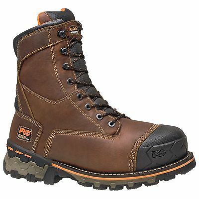 """Timberland Men's PRO 89628 Boondock 8"""" 600 GR Insulated Comp Toe Work Boot"""