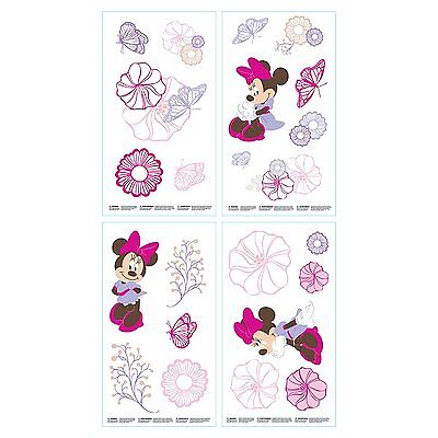 Disney Minnie Mouse  Butterfly Dreams Wall Decals