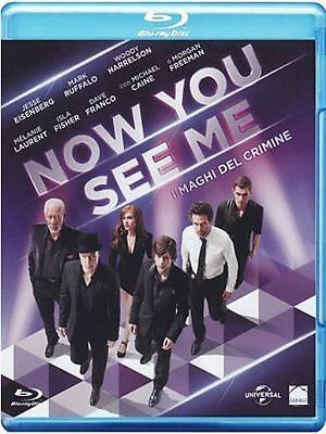 Blu Ray NOW YOU SEE ME- (2013) ***Contenuti Speciali*** ......NUOVO