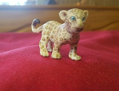 Schleich Germany ~ Spotted  Leopard Cub Figure