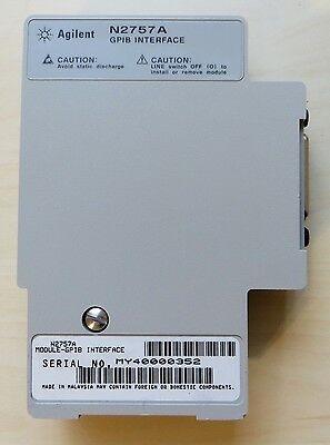 HP / Agilent N2757A GPIB Interface Module for 5462X series scopes. Tested. Clean