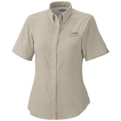 "New Womens Columbia PFG ""Tamiami II"" Omni-Shade / Wick Vented Fishing Shirt"