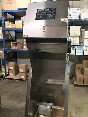 """Giles Ventless Hood for 18"""" Electric Pressure Fryers - Model FSH-2A-99"""