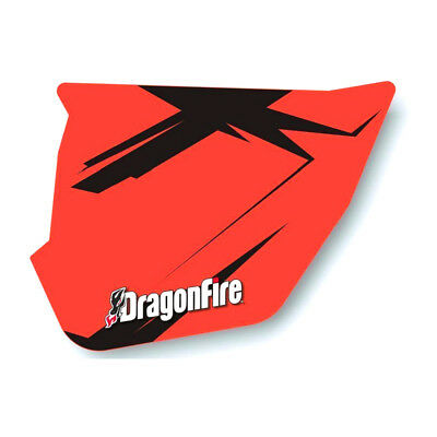 DragonFire HiBoy Door Graphics Can-Am Maverick MAX XRS 2014-2015 Red/Black
