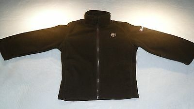 TIMBERLAND Youth Boys Girls Brown Zippered Fleece Jacket Size 3t