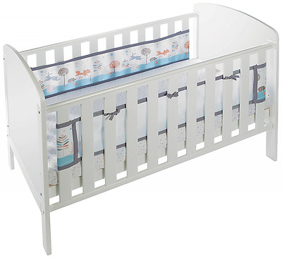 BreathableBaby 2 Sided Cot Mesh Liner (Enchanted Forest)