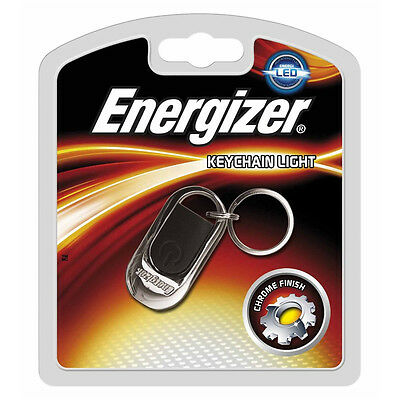 Energizer Keychain LED Light Include 2 x CR2016 Battery Keyring Torch Chain