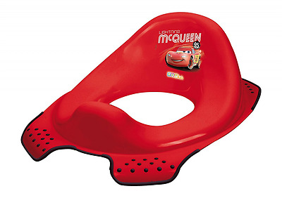 Disney Baby Toilet Trainer Seat - Cars 2 - Red - Lightning McQueen