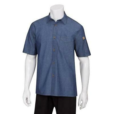 Chef Works Detroit Denim Cooks Shirt - All Sizes
