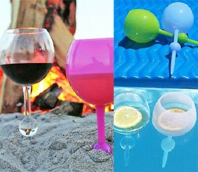 The Beach Glass [4 Pack] Wine, Beer, Spirit & Soft Drink | Drinking Glass 350ml