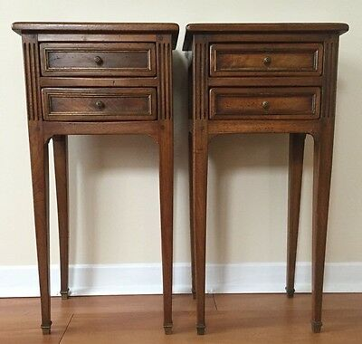 ANTIQUE  PAIR OF LOUIS XVI STYLE STANDS, CIRCA 1860s.