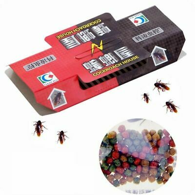 20x Cockroach Roach House Glue Traps Disposable Insect Pest Control Ants Spider