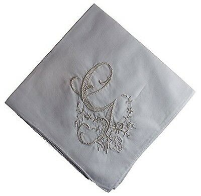 HANDKERCHIEF - LADIES HANDKERCHIEF with Monogram 3 Pack (G)