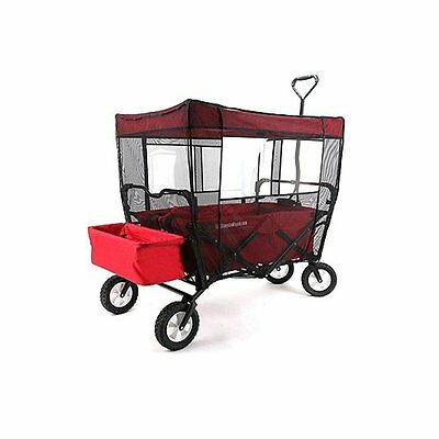 Mosquito Net for Kid's Wagon Cover Fits Buggy Wagon & EasyGo Wagon Insect for