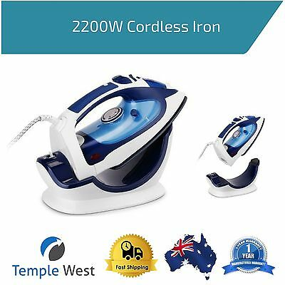 2200W Cordless Steam Iron Multifunction Stainless Steel Wireless Dry Ironing