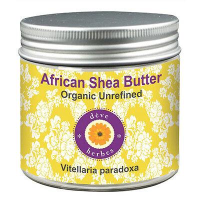 Shea Butter Vitellaria paradoxa African Organic Unrefined 100% Pure & Natural