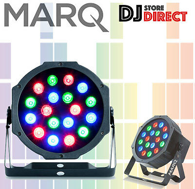 MarQ Colormax P18 Compact RGB 18x1W LED Parcan UPlight effect *FREE P&P**