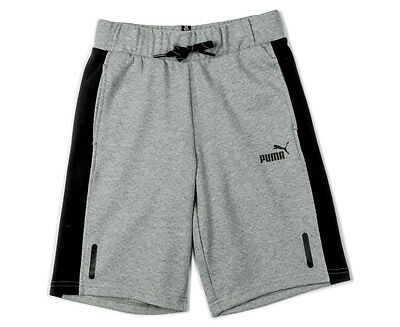 Puma Boys' Sport Style Sweat Shorts - Medium Grey Heather