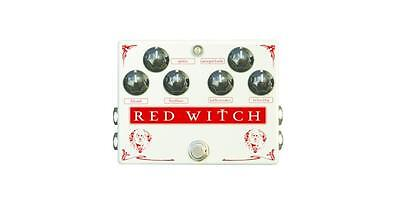 Red Witch Medusa Chorus Tremolo in Vintage Pearl