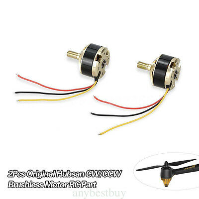 Pair of CW / CCW Brushless Motor 1650kv For Hubsan H501S RC Quadcopter Drone FPV
