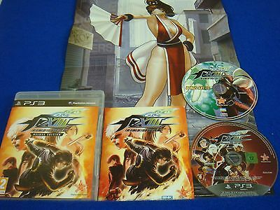 ps3 KING OF FIGHTERS XIII 13 Deluxe Edition + ART CD +Poster REGION FREE Pal