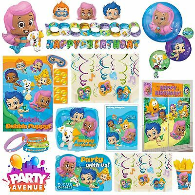 Bubble Guppies Birthday Party Decorations Balloon Tableware