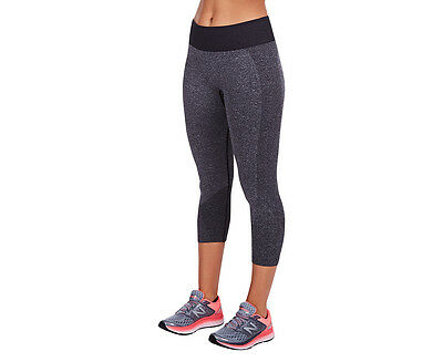 New Balance Women's M4M Seamless Cap Pant - Black
