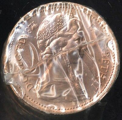 1971 Elizabeth II One New Penny***BUNC***From Sealed Pack***Collectors***
